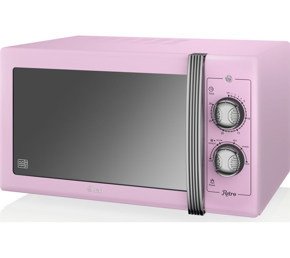 SWAN Retro SM22070PN Solo Microwave Review