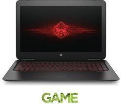 "HP Omen 15-ax250na 15.6"" Gaming Laptop - Black"