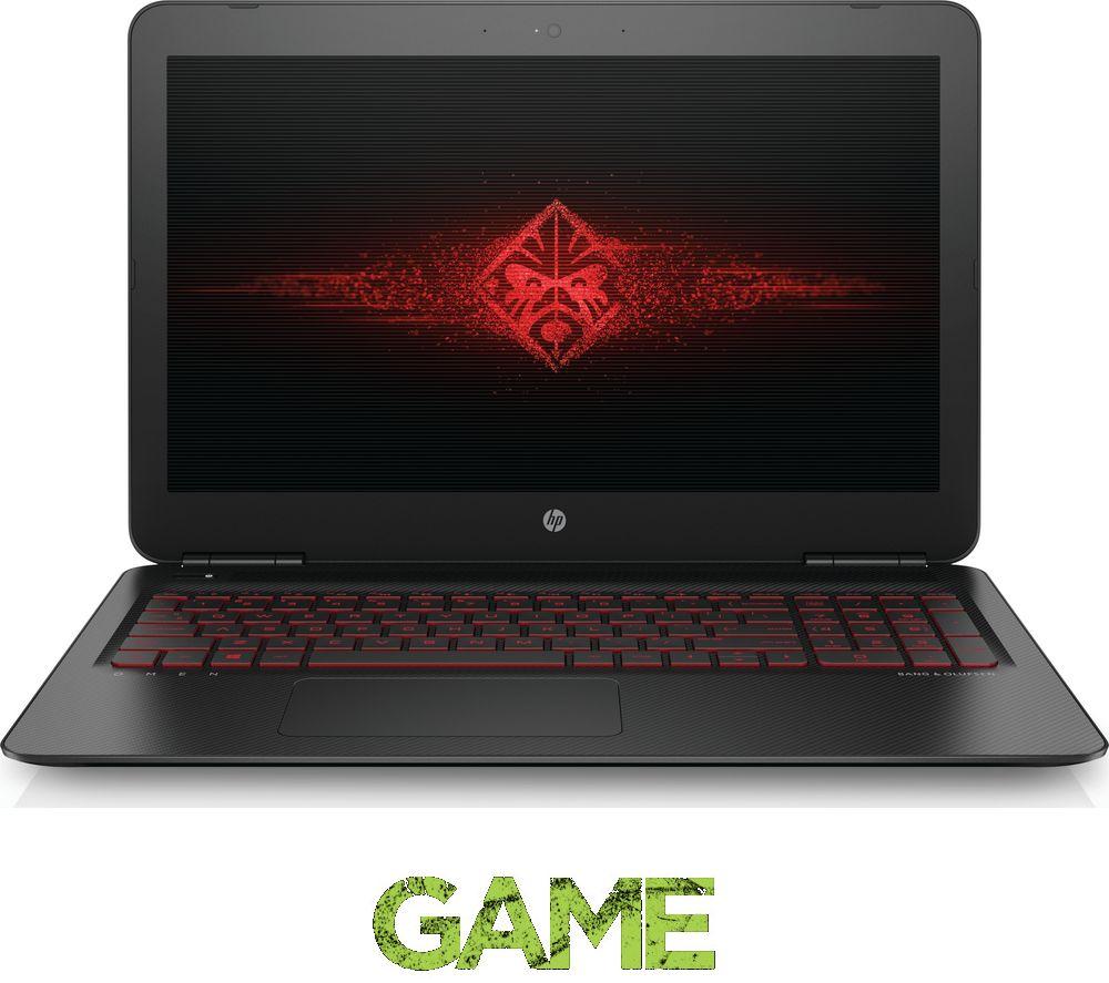 hp omen 15 ax250na 15 6 gaming laptop black deals pc world. Black Bedroom Furniture Sets. Home Design Ideas