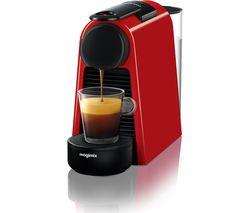 NESPRESSO by Magimix Essenza Mini Coffee Machine - Ruby Red