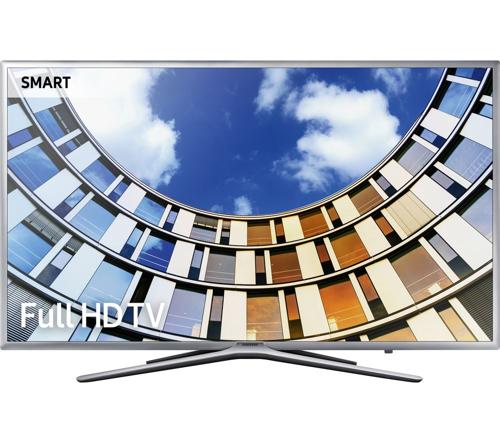 "SAMSUNG UE43M5600AKXXU 43"" Smart LED TV + S1HDM315 HDMI Cable with Ethernet - 1 m"
