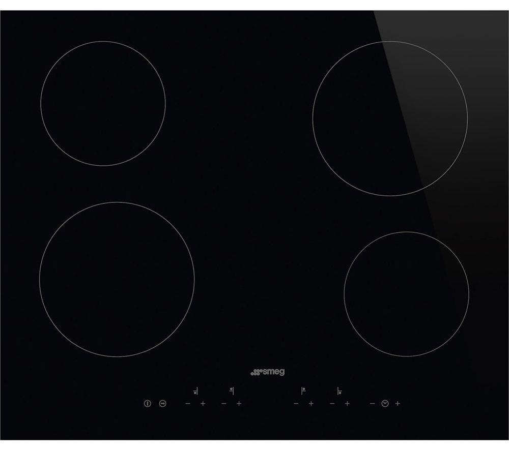 SMEG SE364TD Electric Ceramic Hob - Black
