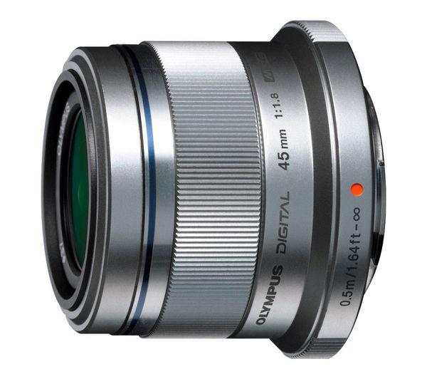 Image of OLYMPUS M.ZUIKO DIGITAL 45 mm f/1.8 Standard Prime Lens