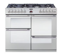 STOVES Sterling R1100DFT Dual Fuel Range Cooker - Stainless Steel