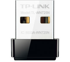 TP-LINK TL-WN725N USB Wireless Adapter - N150