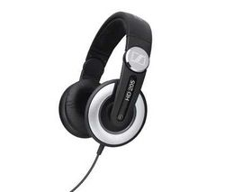 SENNHEISER HD 205 Headphones - Black & Silver