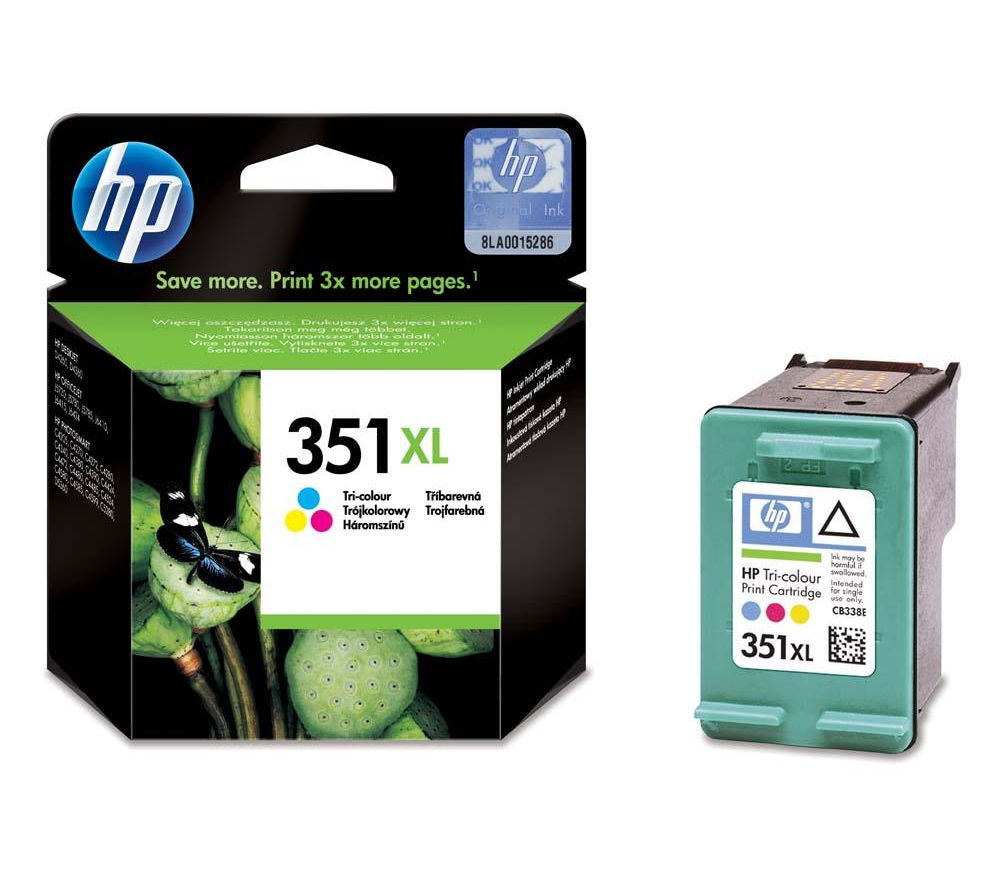 HP 351XL Tri-colour Ink Cartridge