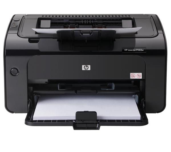 HP  LaserJet Pro P1102w Wireless Monochrome Laser Printer +  85A Black Toner Cartridge +  A4 Premium Black Label Paper - 500 Sheets