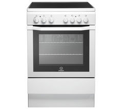 INDESIT I6VV2AW Electric Ceramic Cooker - White