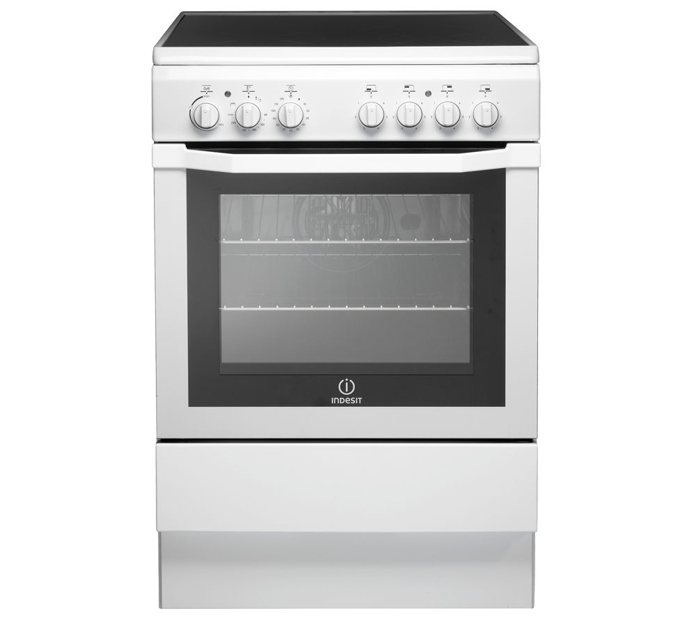 INDESIT  I6VV2AW Electric Ceramic Cooker  White White