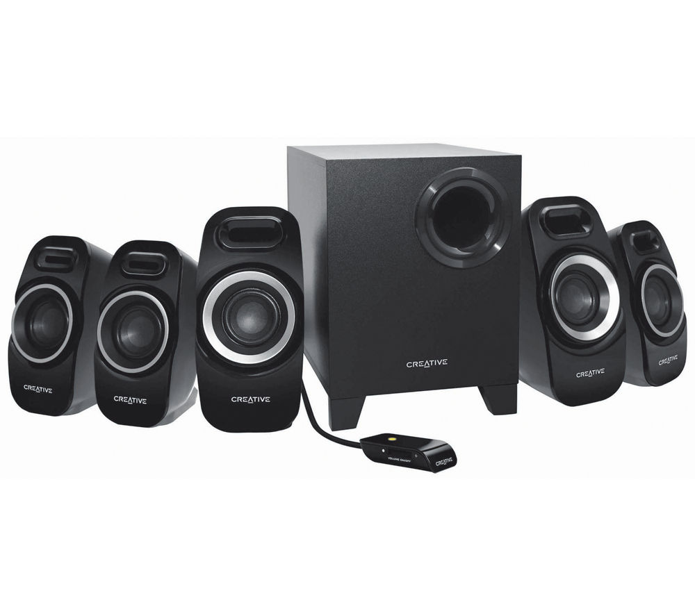 CREATIVE LABS Inspire T6300 5.1 PC Speakers