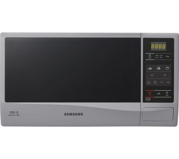 Samsung ME732KS Solo Microwave  Silver Silver