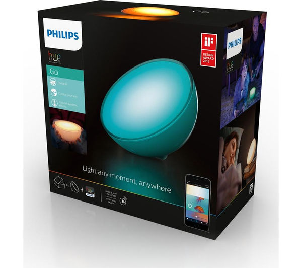 buy philips hue go portable wireless light free delivery currys. Black Bedroom Furniture Sets. Home Design Ideas