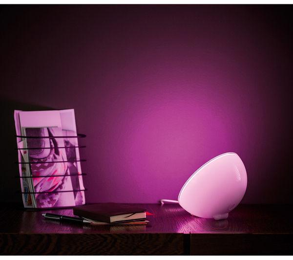 buy philips hue go portable wireless light hue lightstrip plus 2 m bundle free delivery. Black Bedroom Furniture Sets. Home Design Ideas