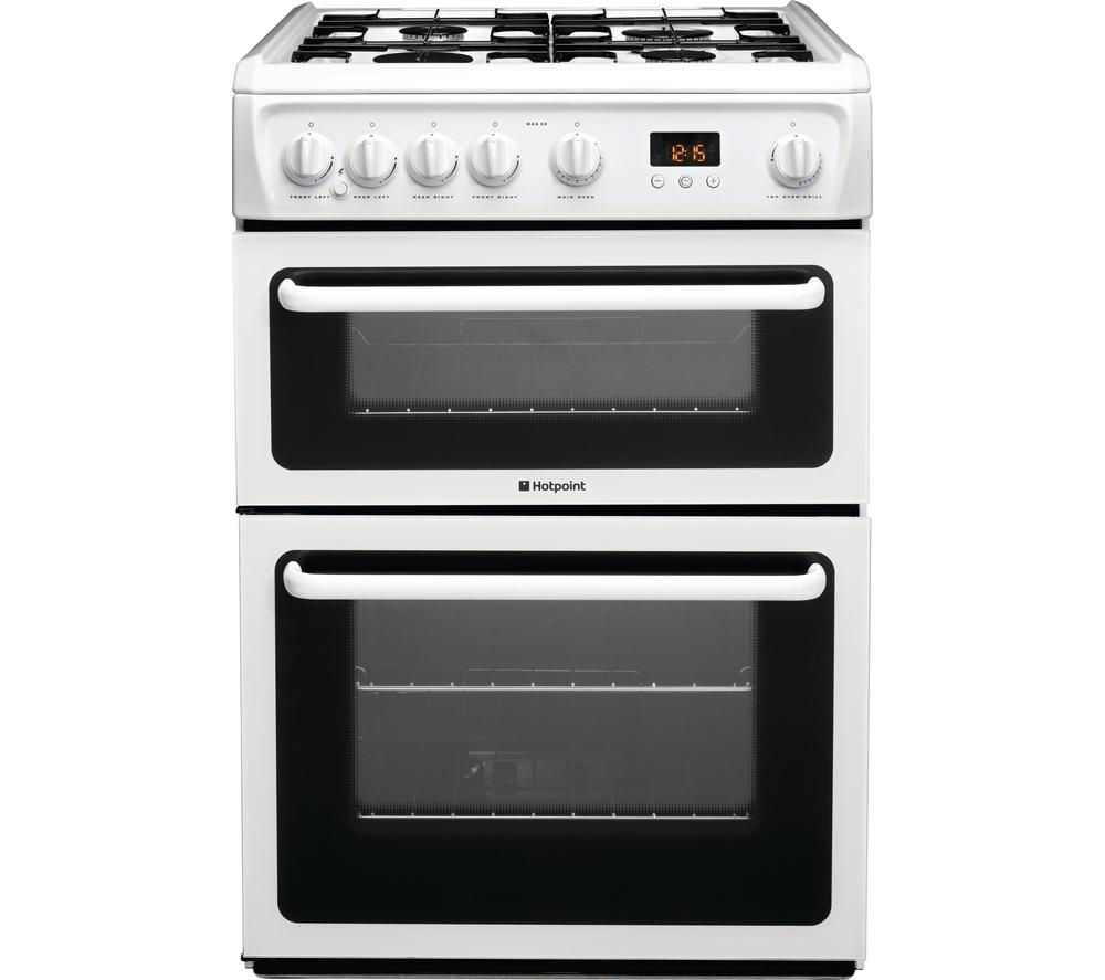 Hotpoint Ultima HUI611X Freestanding Electric cooker - m