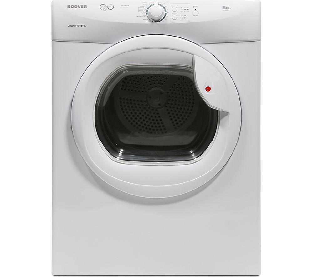 HOOVER VTV581NC Vented Tumble Dryer - White