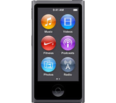 APPLE iPod nano - 16 GB, 7th Generation, Space Grey