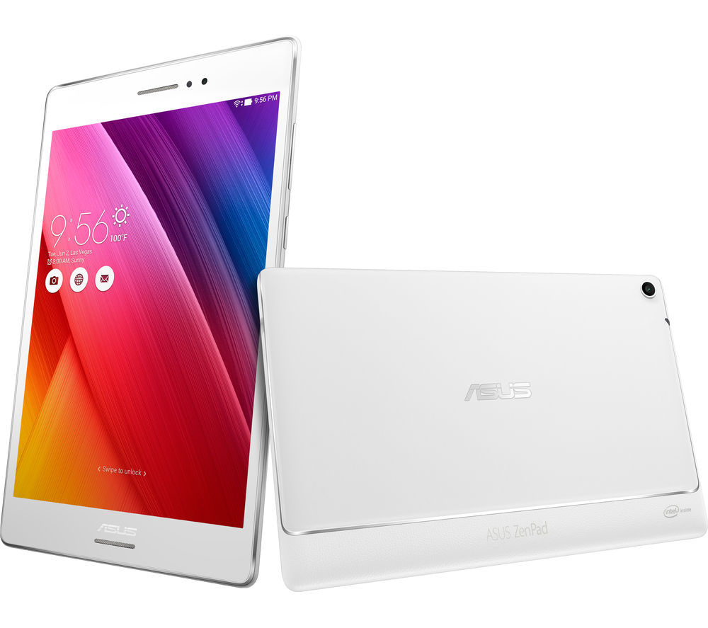 "Image of Asus ZenPad Z580C 8"" Tablet - 16 GB, White, White"