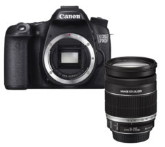 CANON EOS 70D DSLR Camera with Additional Battery and Shoulder Strap - Body Only