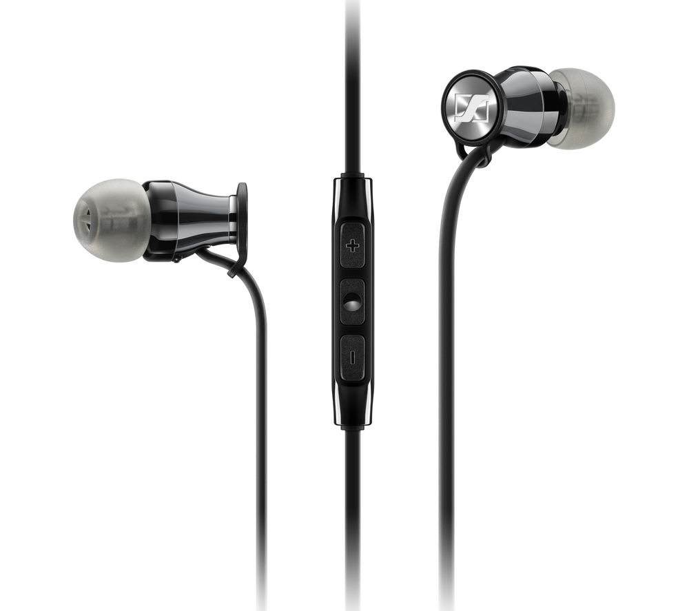 Click to view more of SENNHEISER  Momentum 2.0 IEi Headphones - Black & Chrome, Black