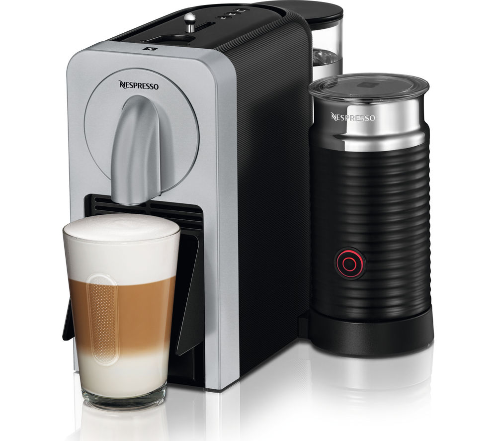 NESPRESSO  By Magimix Prodigio 11376 Smart Coffee Machine  Silver Silver