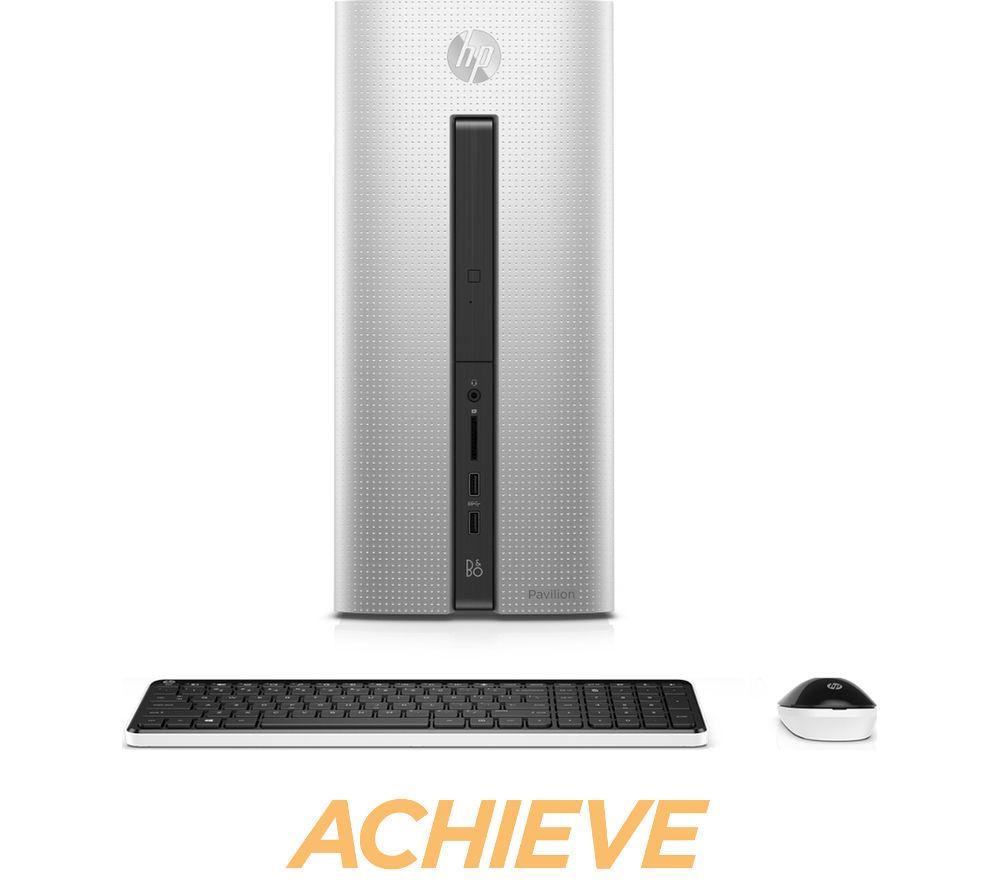 HP Pavilion 550100na Desktop PC  Silver