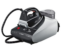 BOSCH Steam Station Sensixx B35L TDS3526GB Steam Generator Iron - Silver & Black