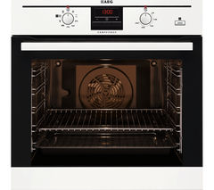 AEG BE300362KW Electric Steam Oven - White