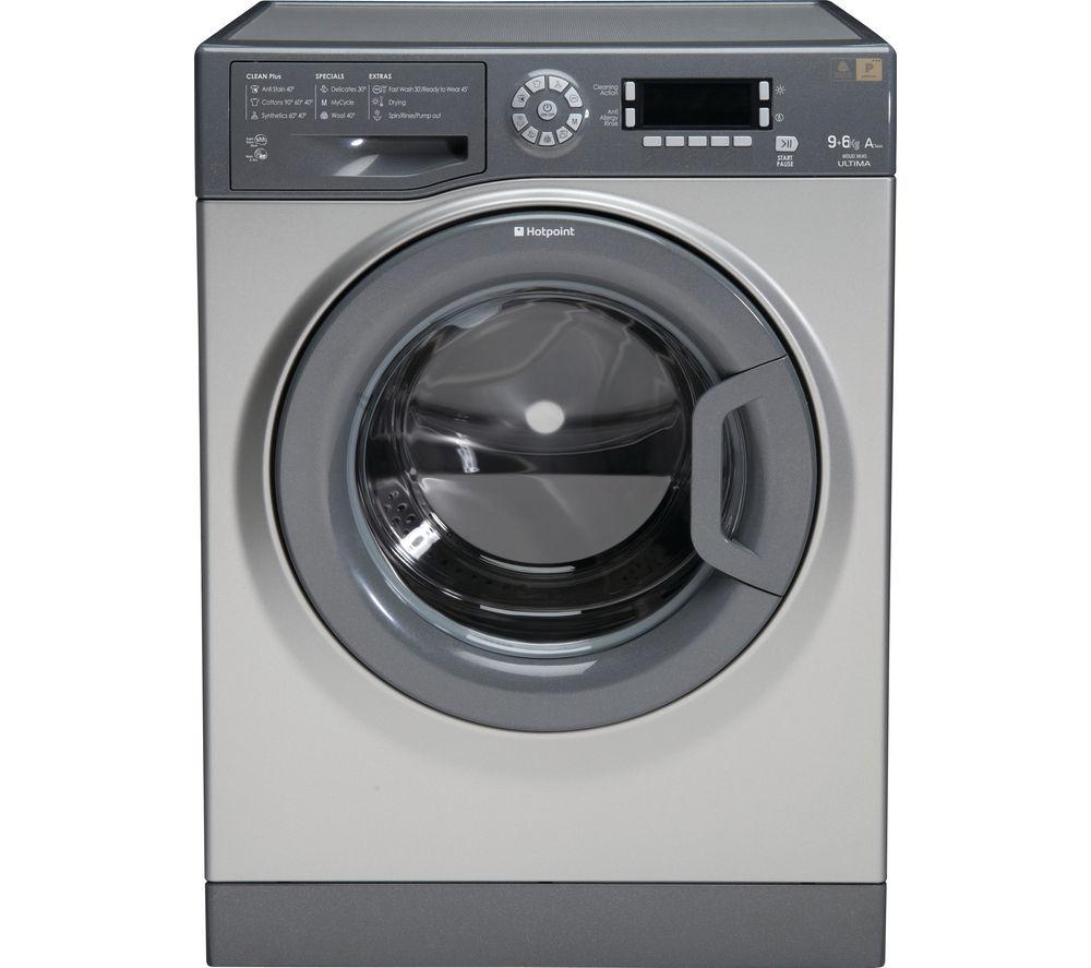 Buy Hotpoint Wdud9640g Washer Dryer Graphite Free