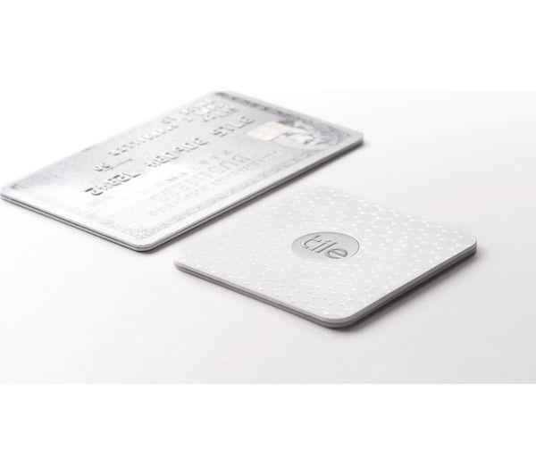 Tile Slim Bluetooth Tracker White Deals Pc World