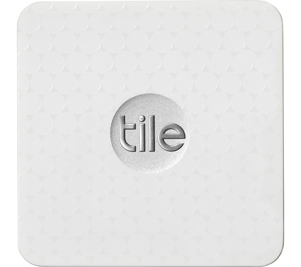 TILE Slim Bluetooth Tracker  White White