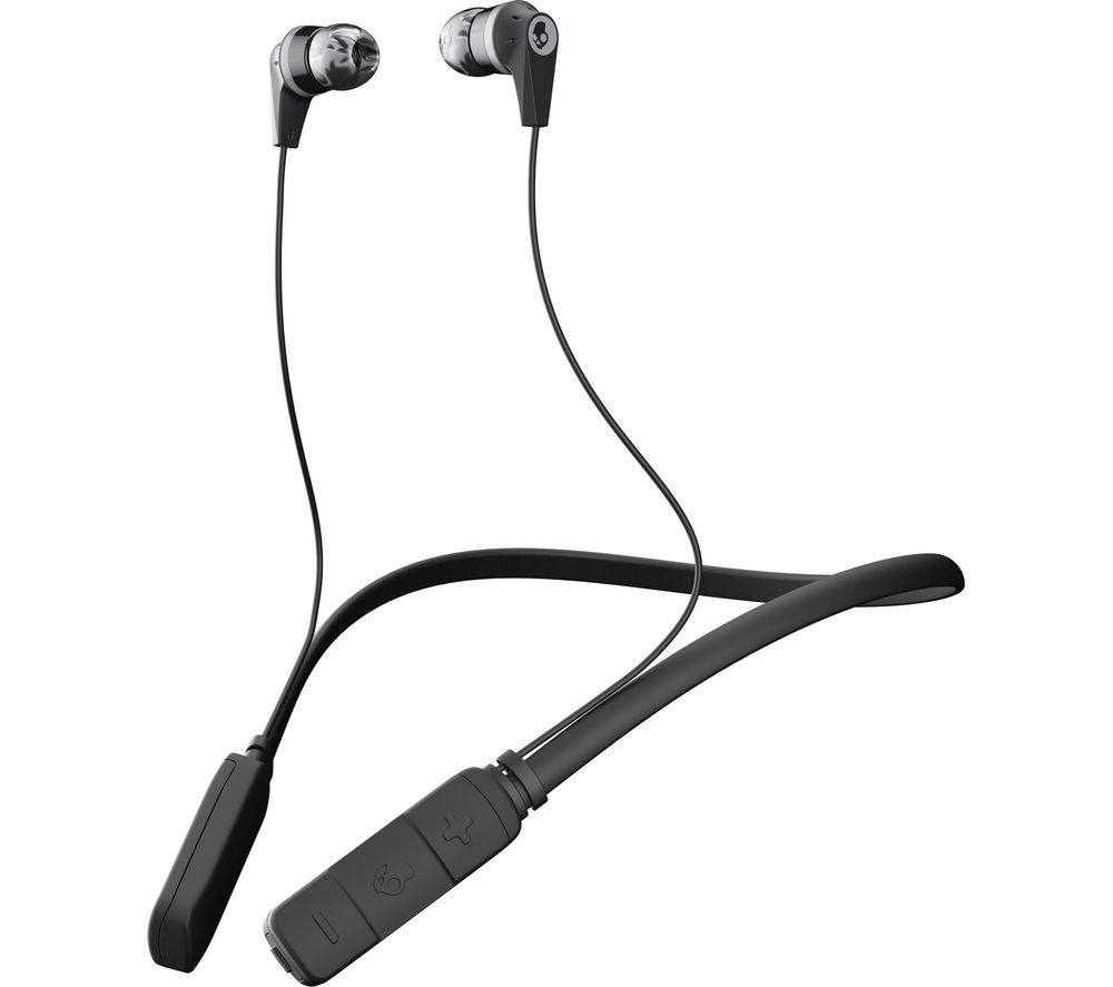 Click to view more of BLUE SKULLCANDY  Ink'd Wireless Bluetooth Headphones - Black & Grey, Black