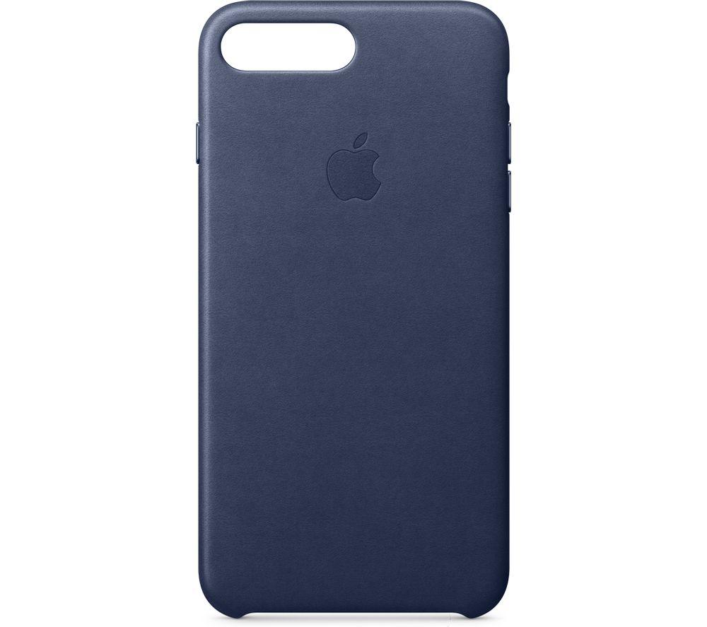 APPLE Leather iPhone 7 Plus Case - Midnight Blue