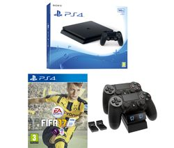 PLAYSTATION 4 Slim & FIFA 17 - 500 GB
