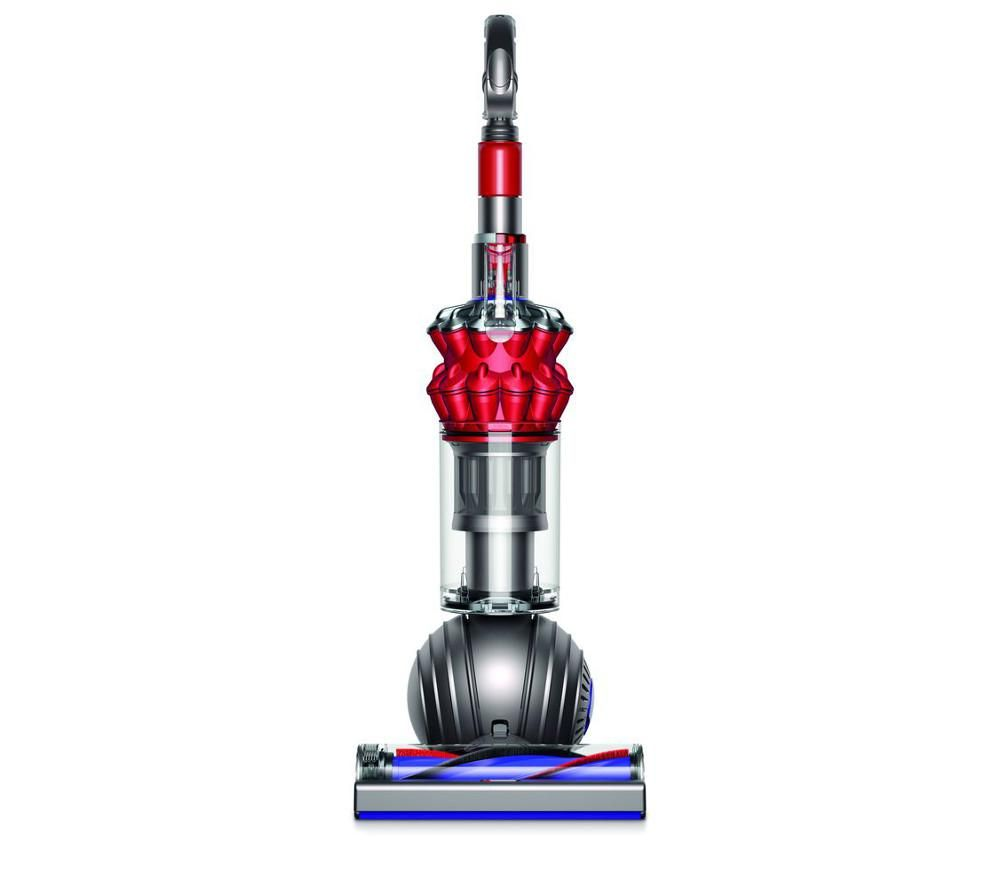 DYSON  Small Ball Total Clean Upright Bagless Vacuum Cleaner  Iron & Red Red
