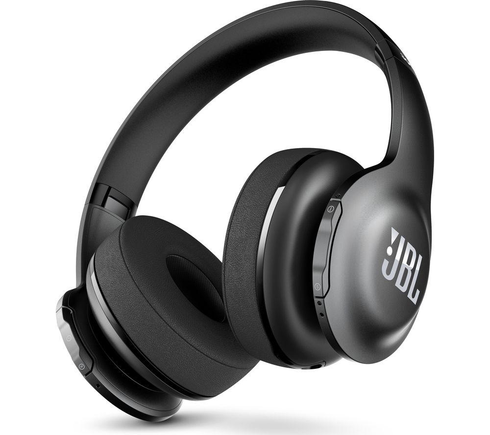 buy jbl everest 300bt wireless bluetooth headphones black free delivery currys. Black Bedroom Furniture Sets. Home Design Ideas