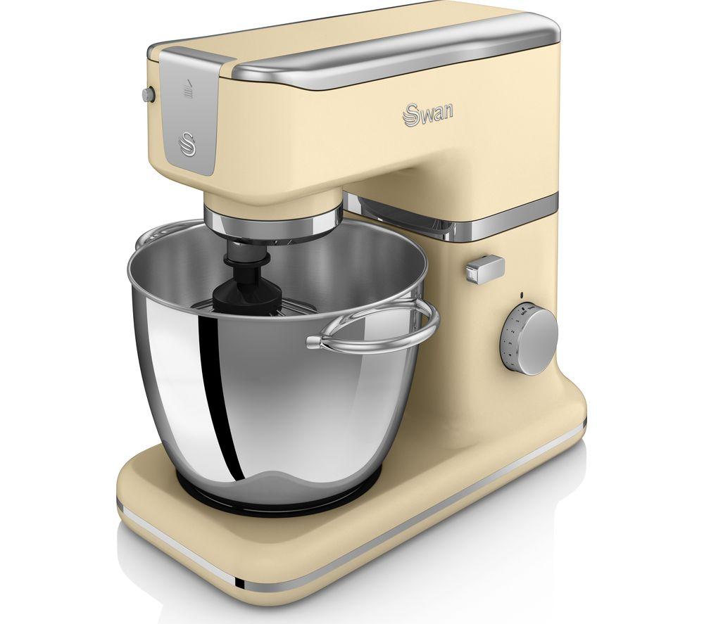 SWAN Retro SP21010BLN Stand Mixer - Cream