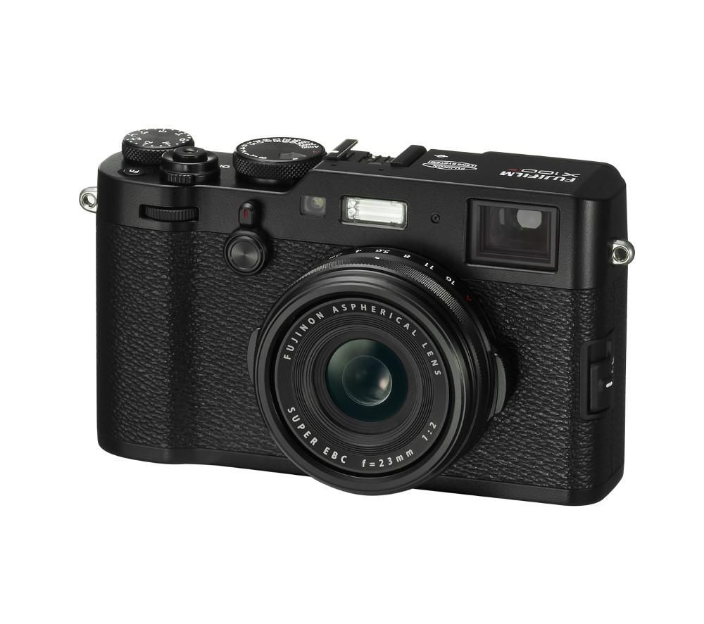 FUJIFILM X100F High Performance Compact Camera - Black