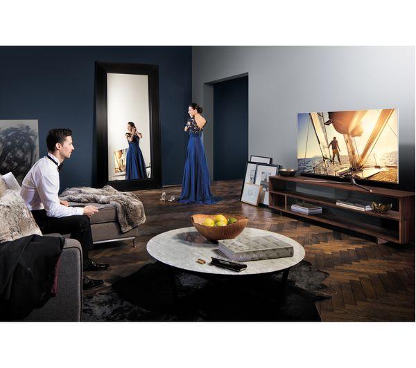 samsung qe65q7famt 65 smart 4k ultra hd hdr qled tv deals pc world. Black Bedroom Furniture Sets. Home Design Ideas