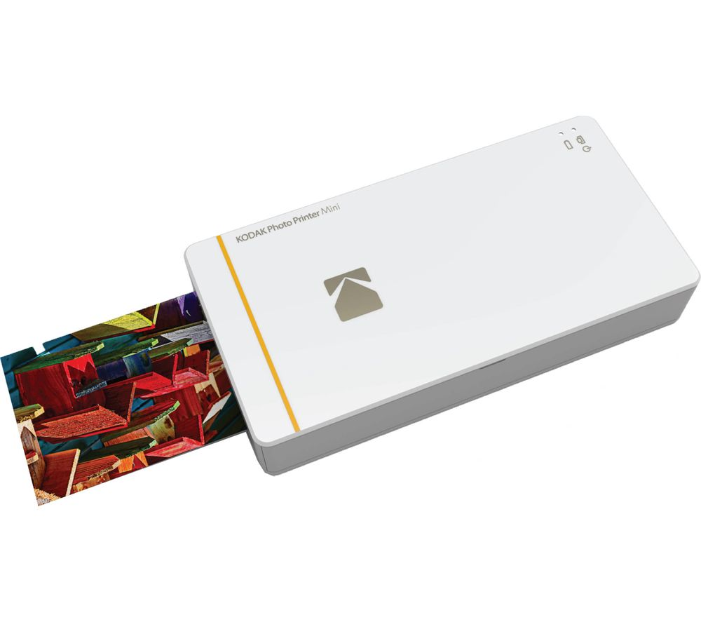 KODAK Mini Photo Printer - White