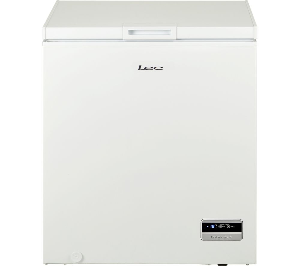 LEC CF150L Chest Freezer - White