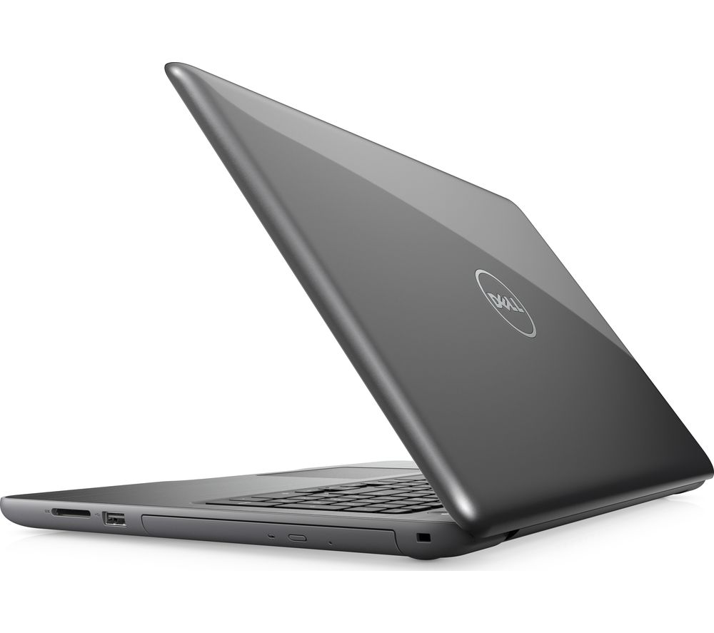 """DELL Inspiron 15 5000 15.6"""" Laptop - Grey + L15BUN16 15.6"""" Laptop Case with Wireless Mouse & Screen Wipes - Black"""