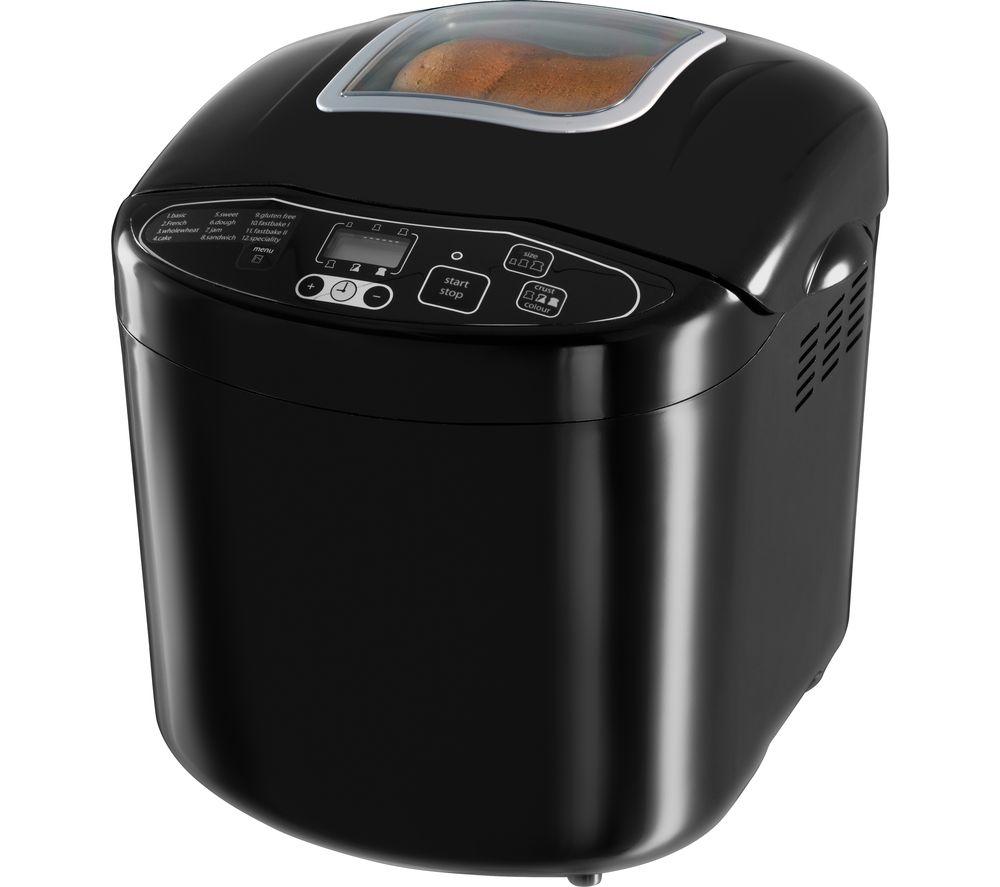 Image of RUSSELL HOBBS Fast Bake Compact 23620 Breadmaker - Black, Black