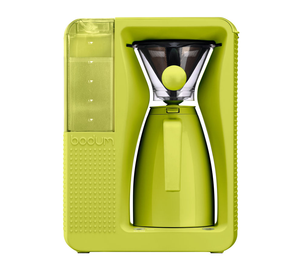 bodum bistro 11001 913 pour over coffee maker lime green. Black Bedroom Furniture Sets. Home Design Ideas