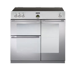 STOVES Sterling 900Ei Electric Induction Range Cooker - Stainless Steel