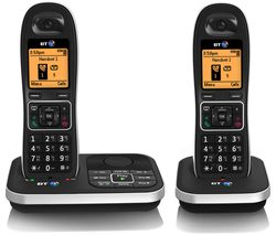 BT 7610 Cordless Phone with Answering Machine (Twin Handsets)