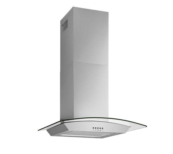 buy logik l60chdg14 chimney cooker hood stainless steel. Black Bedroom Furniture Sets. Home Design Ideas