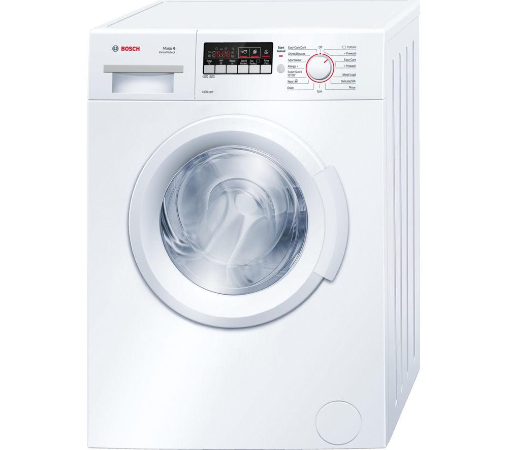 BOSCH  WAB28261GB Washing Machine  White White