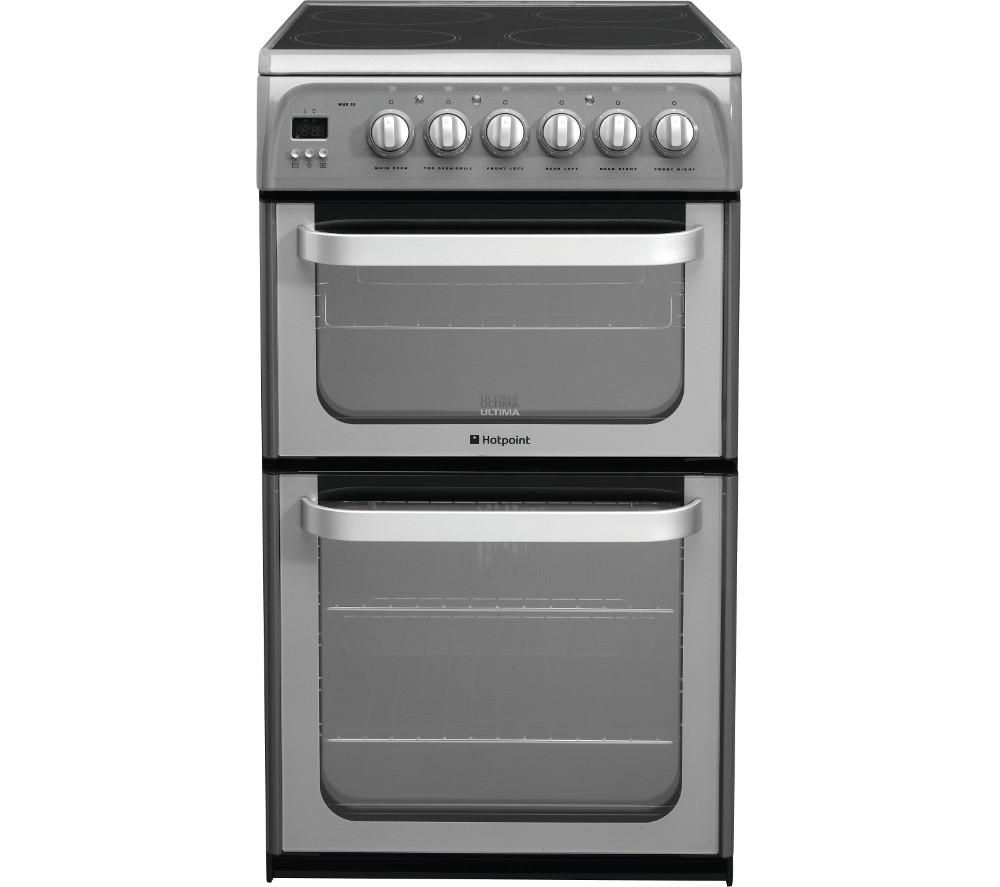 HOTPOINT Ultima HUE52GS Electric Ceramic Cooker - Graphite