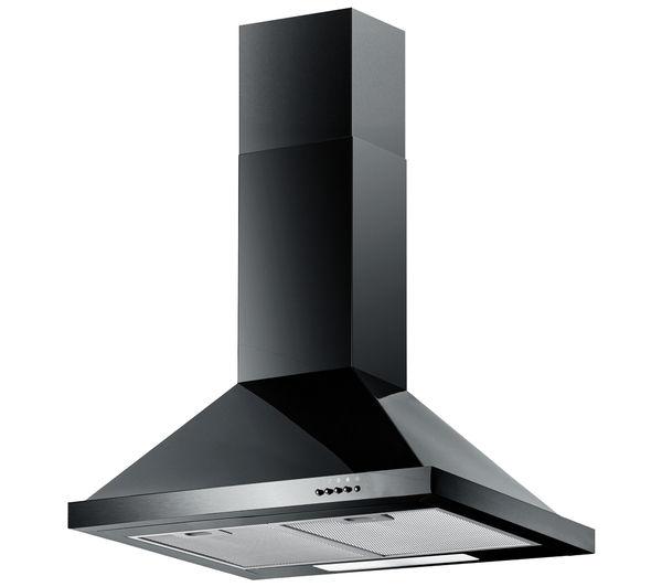 buy baumatic f60 2bl chimney cooker hood black free. Black Bedroom Furniture Sets. Home Design Ideas
